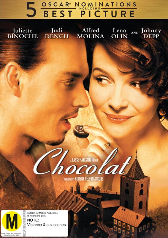 Chocolat on DVD