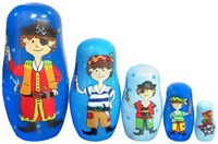 Fun Factory: Pirate Nesting Dolls
