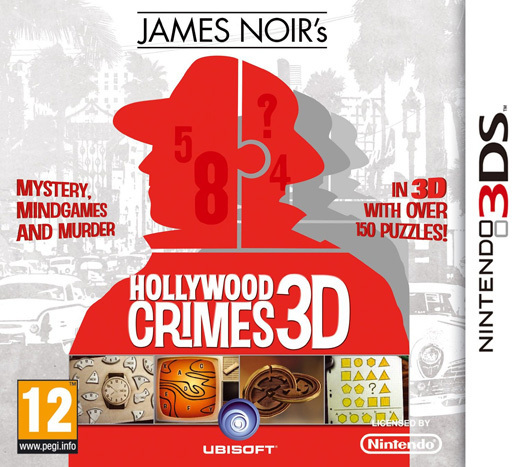 James Noir's Hollywood Crimes 3D for 3DS