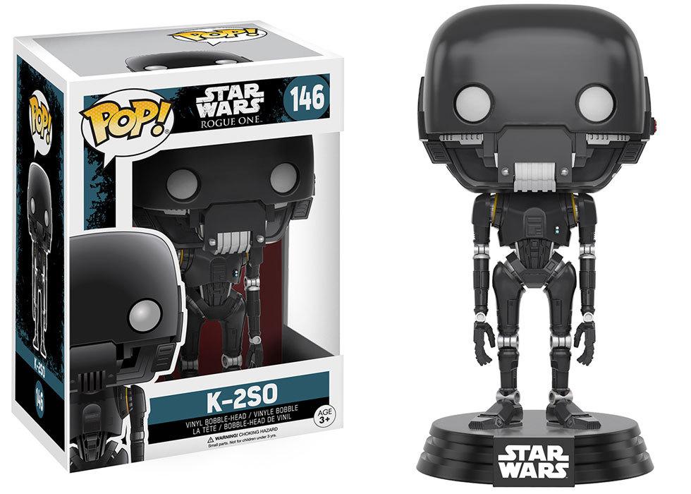 Star Wars: Rogue One - K-2SO Pop! Vinyl Figure image