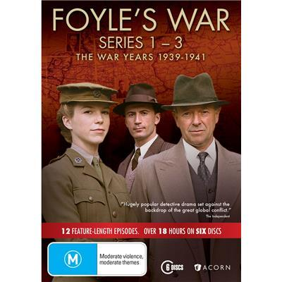 Foyle's War: The War Years 1939-1941 (Series 1 - 3) on DVD