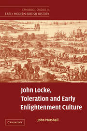 Cambridge Studies in Early Modern British History by John Marshall image