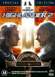 Highlander 2 - Special Edition (2 Disc) on DVD