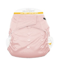 Snazzipants: All in One Reusable Nappy - Pale Pink