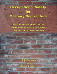 Occupational Safety for Masonry Contractors by Michael, Rosser image
