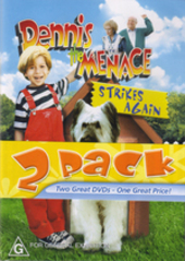 Dennis The Menace / Dennis The Menace Strikes Again - Double Feature (2 Disc Set) on DVD