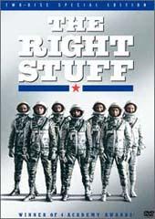 Right Stuff on DVD