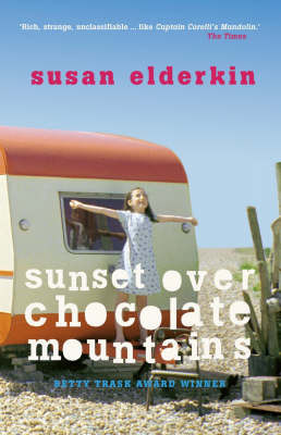 Sunset Over Chocolate Mountains by Susan Elderkin