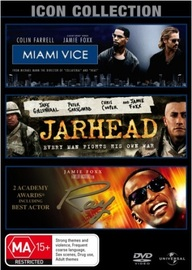 Jamie Foxx Movie Collection (Miami Vice (2006) / Jarhead / Ray) (3 Disc Set) on DVD image