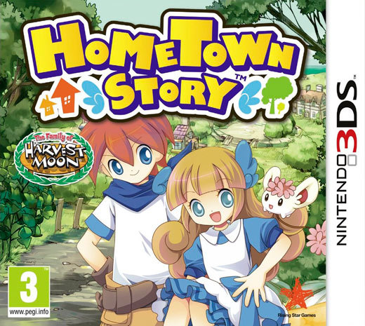 Hometown Story for Nintendo 3DS