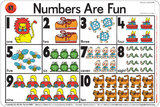 Learning Can Be Fun - Numbers Are Fun - Placemat