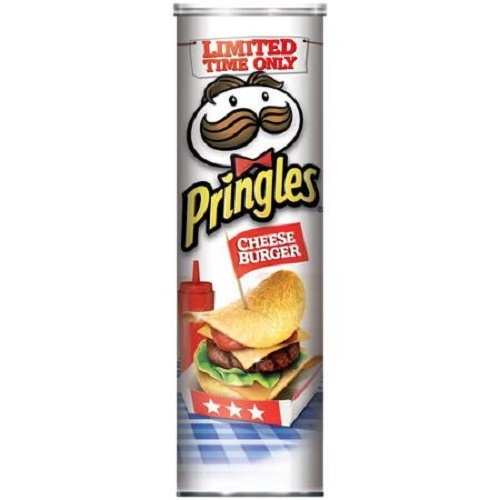 Pringles Super Stack - Cheeseburger 158g image