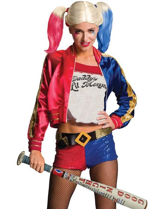 Suicide Squad Harley Quinn Costume (Large)  db1a4de691