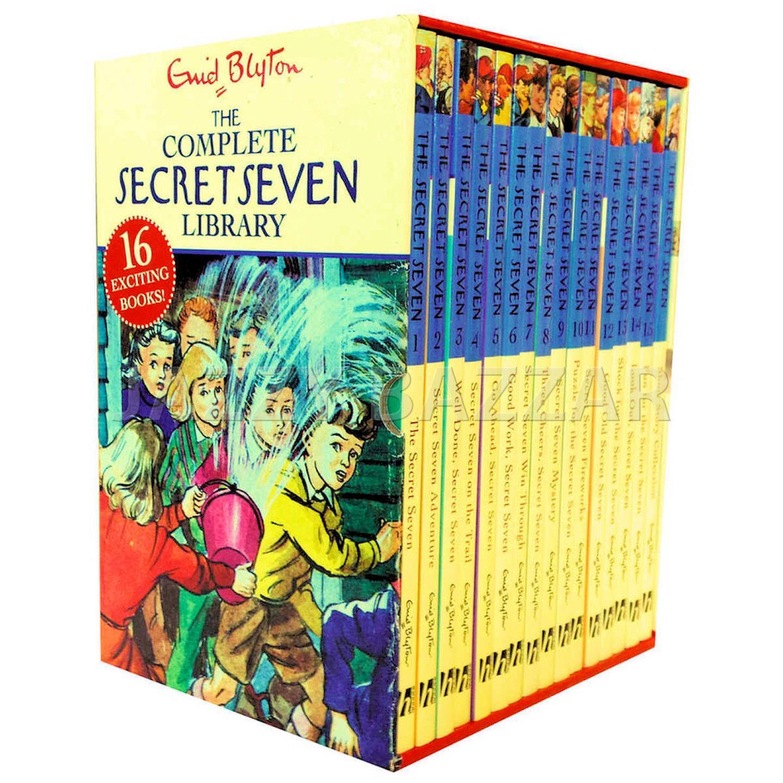 Enid Blyton Secret Seven Complete Collection image