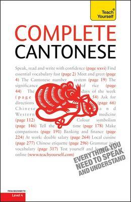 Complete Cantonese (Learn Cantonese with Teach Yourself) by Hugh Baker image