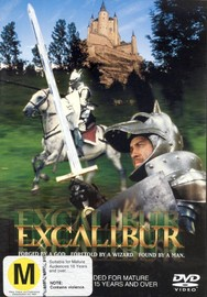 Excalibur on DVD image