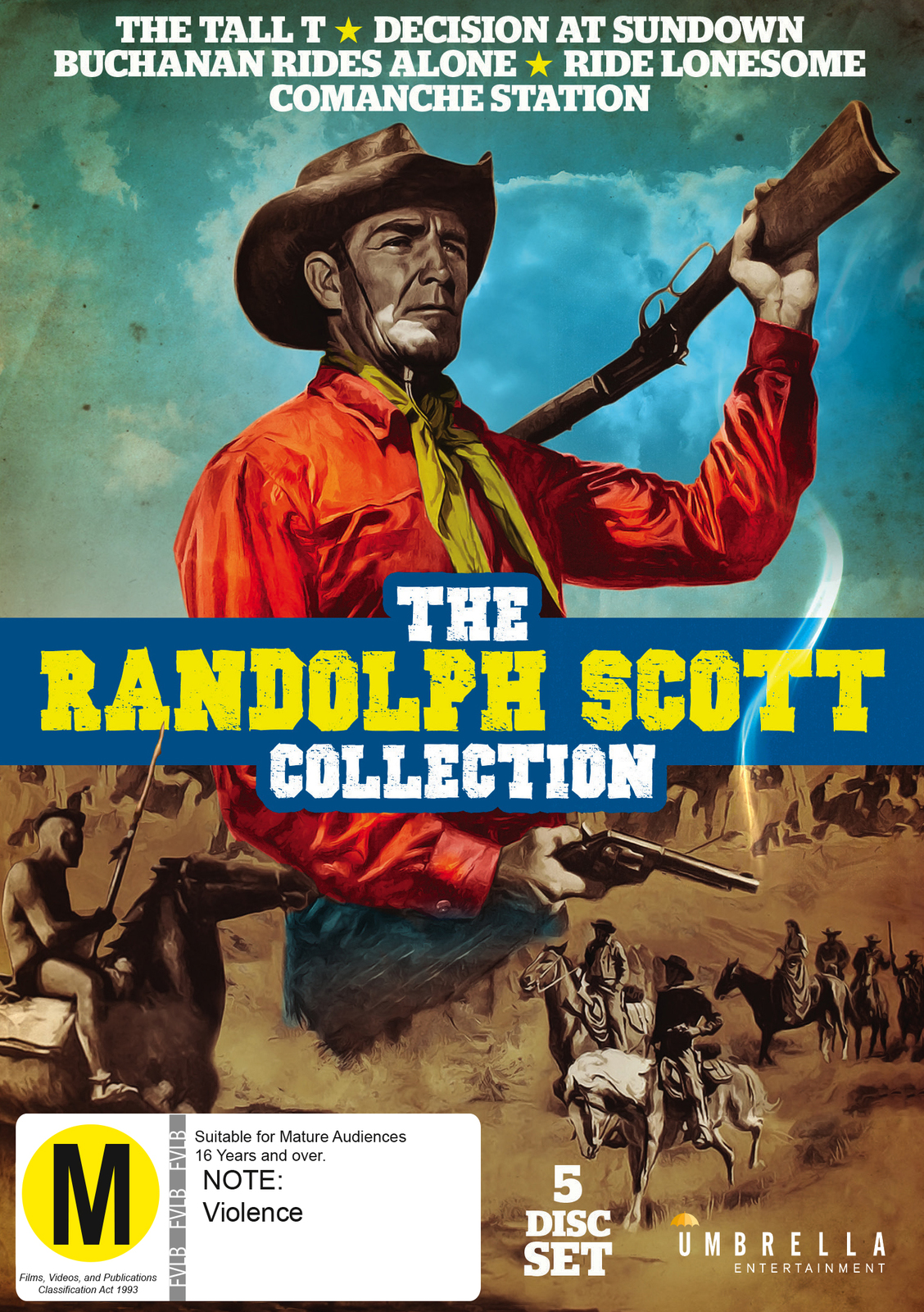 Randolph Scott Collection on DVD image