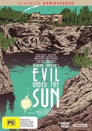 Evil Under the Sun on DVD image