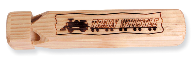 Toysmith: Wooden Train Whistle