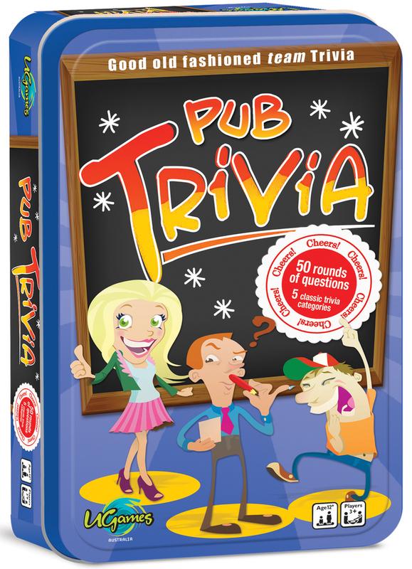 Pub Trivia - Tinned Travel Game