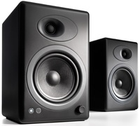 Audioengine 5+ Powered Bookshelf Speakers (Pair) Satin Black