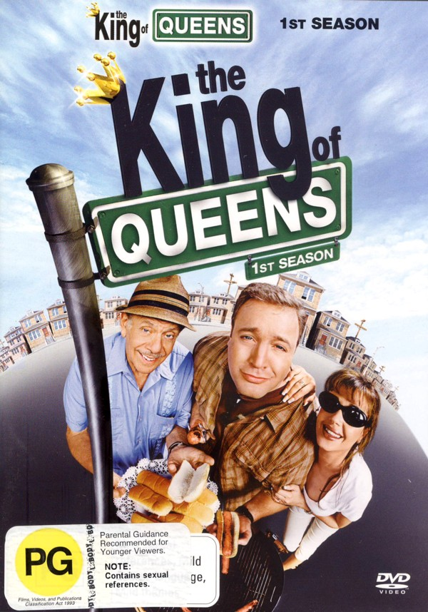 King Of Queens, The - 1st Season (4 Disc Set) on DVD image