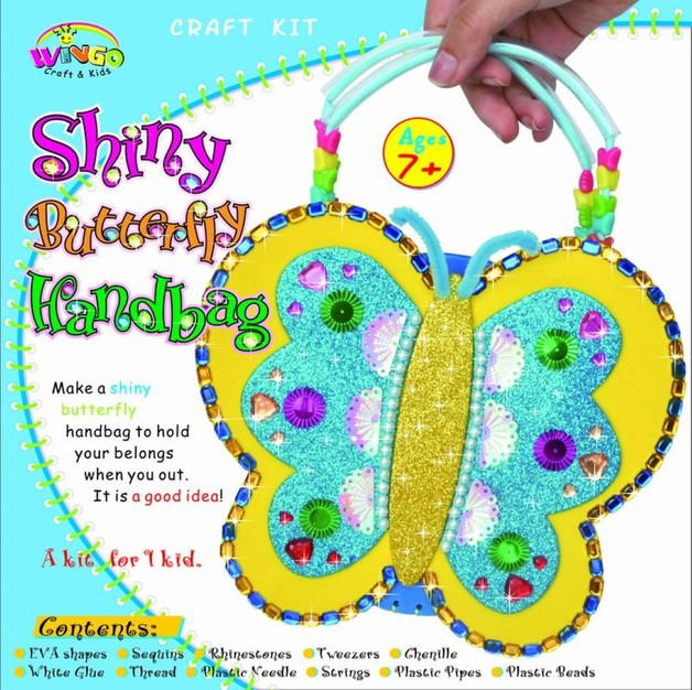 Diy Butterfly Handbag Craft Kit Toy At Mighty Ape Nz