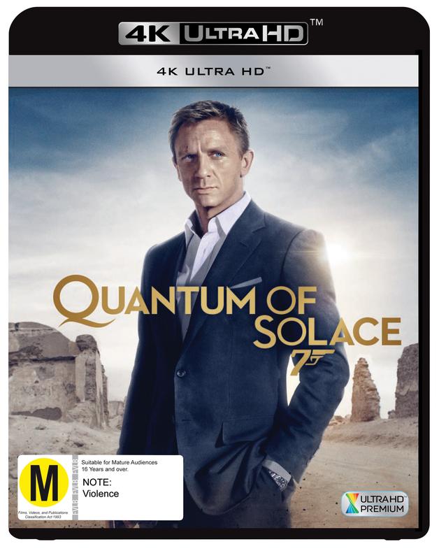 Quantum of Solace (4K Ultra HD Blu-ray) on UHD Blu-ray