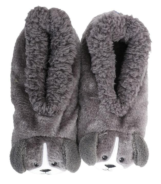 Slumbies: Dog Furry Critters - Kids Slippers (Medium)