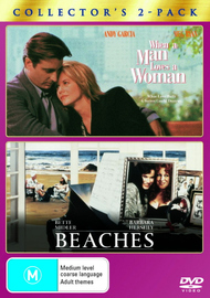When A Man Loves A Woman / Beaches - Collector's 2-Pack (2 Disc Set) on DVD image