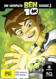 Ben 10 - Season 1 on DVD image