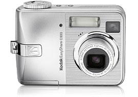 "Kodak C330 Digital Camera with Sample Inkjet 4.0MP 3X Digital Zoom Retinar Lens 1.5""Indoor/Outdoor disp 16MB internal memory SD/ image"
