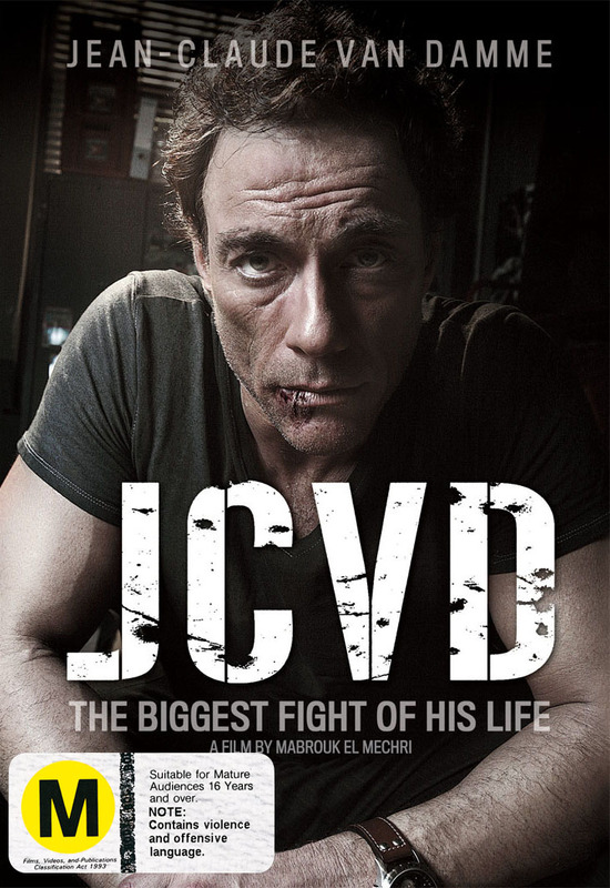 JCVD on DVD