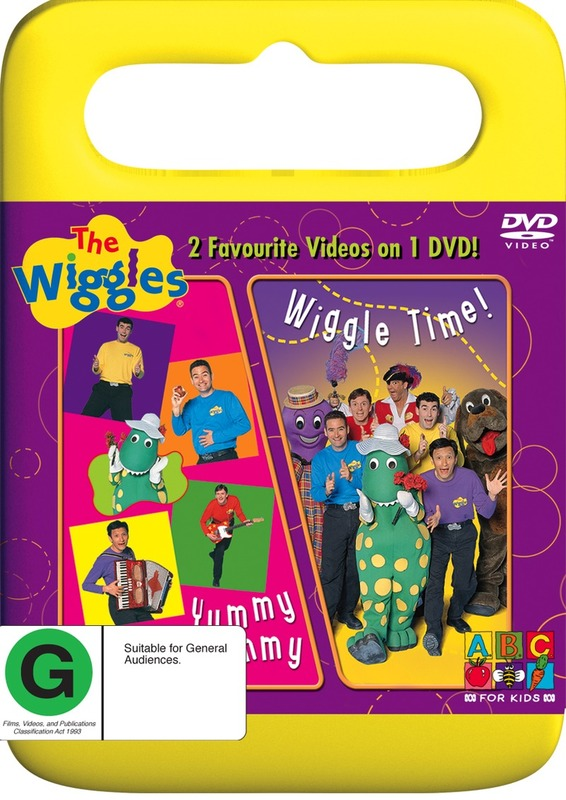 The Wiggles - Wiggle Time / Yummy Yummy on DVD
