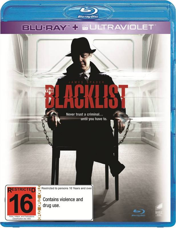 The Blacklist -The Complete First Season on Blu-ray