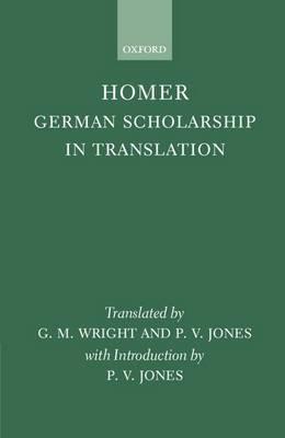 Homer: German Scholarship in Translation image