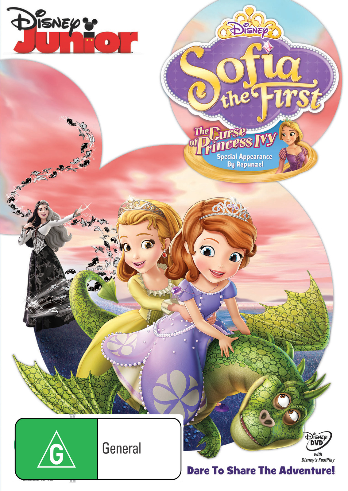 Sofia The First: Curse Of The Princess Ivy on DVD image