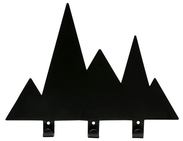General Eclectic Wall Hook - Black Mountains