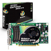Albatron 8600GTS 256MB PCIE DUAL DVI