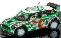 Scalextric:DPR BMW Mini WRC #14 - Slot Car