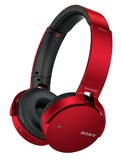 Sony: MDR-XB650BT Extra Bass Bluetooth Headphones - Red