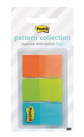 Post-it Flags Dispenser Pack - Geos Full Colour (60 Pack)