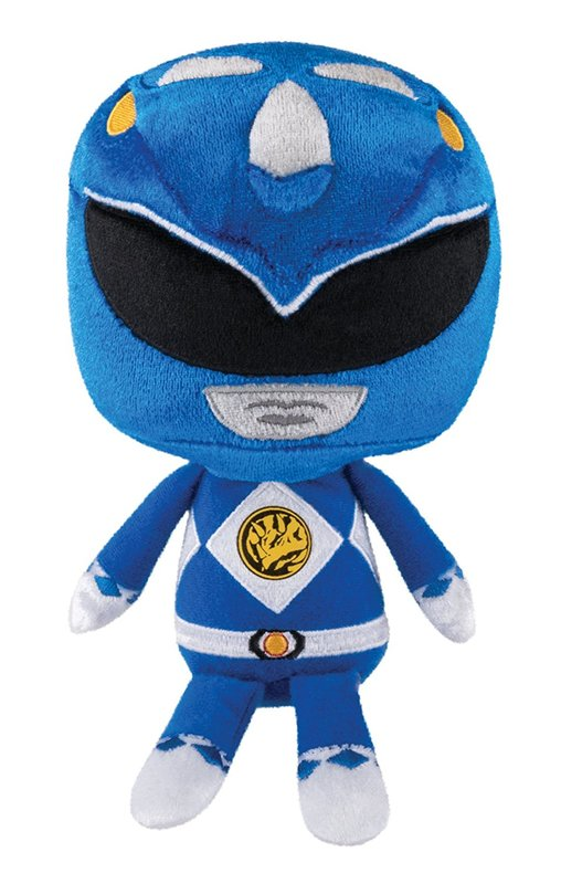 Power Rangers - Blue Ranger Hero Plush