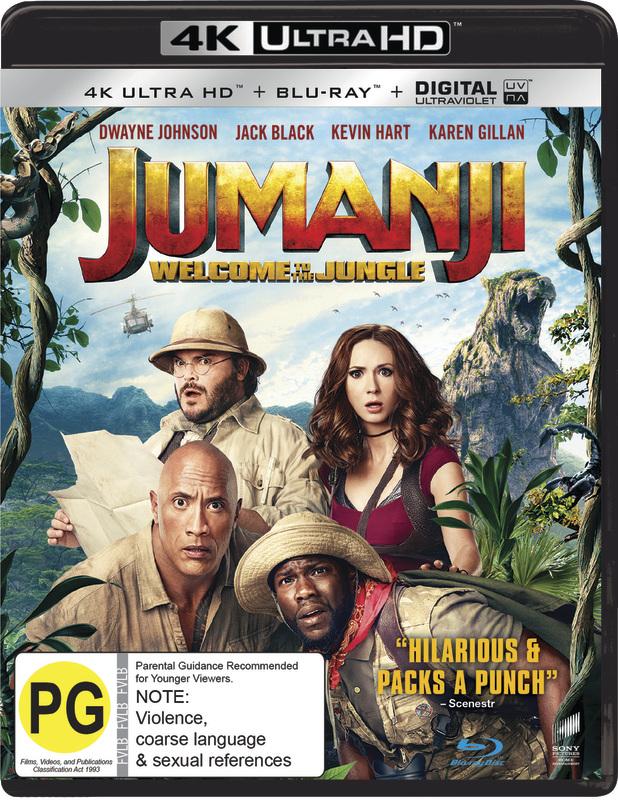 Jumanji: Welcome to the Jungle (4K UHD + Blu-ray) on UHD Blu-ray