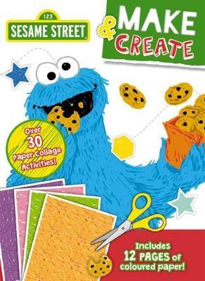 Sesame Street Make & Create Activity Book
