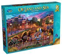 Holdson: 1000 Piece Puzzle - Of Land & Sea S2 (Holland Bridges)