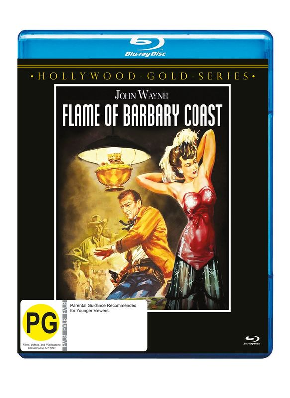 Flame Of Barbary Coast on Blu-ray