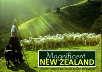 Magnificent New Zealand: A Journey through the Country by Stephen Barnett image