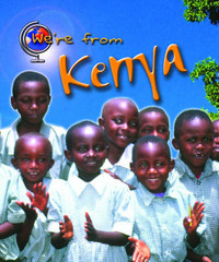 We're from Kenya by Vic Parker image