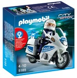Playmobil: Police Motorcycle (5185)